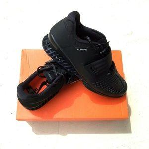 Nike Romaleos 3 Mens Size 11.5 Black Gym Shoes